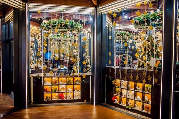 Фото 1 Nescafé открыл рождественский бар в центре Москвы