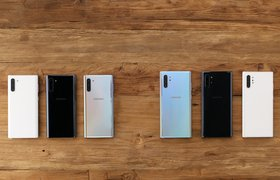 Samsung представил новые смартфоны Galaxy Note 10 и Note 10+
