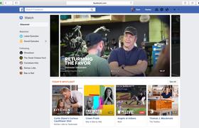 Facebook представил сервис Watch для просмотра эксклюзивных видео и сериалов