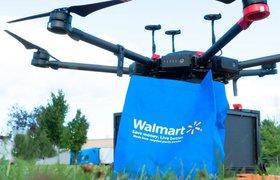Walmart составит конкуренцию Amazon в доставке заказов дронами