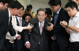 Скончался глава Samsung Ли Гон Хи