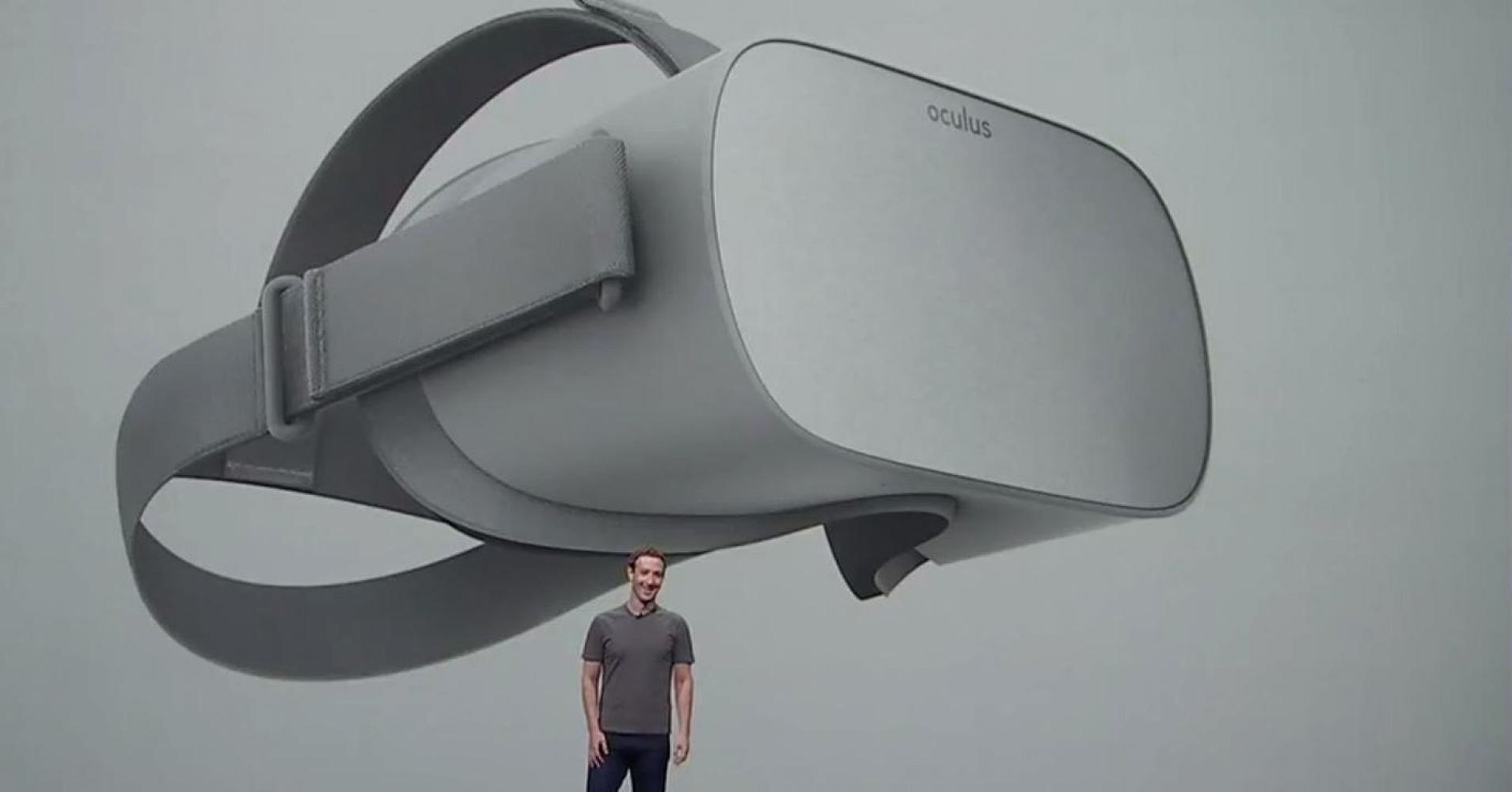 Цукерберг представил первый VR-шлем от Oculus, не требующий проводов или ПК