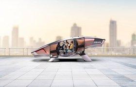 В Израиле разработали пятиместный летающий автомобиль на водороде