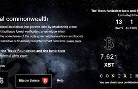 Блокчейн-стартап Tezos объявил о начале ICO