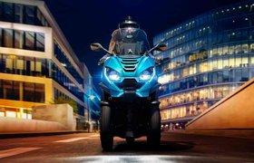 Трехколесный скутер Peugeot будет стоить как новая Hyundai Creta