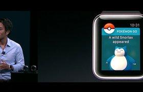 Apple анонсировала запуск Pokemon Go на Apple Watch