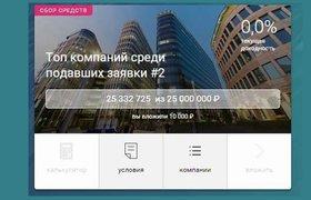 Сервис «Поток» собрал для малого бизнеса 25 млн рублей инвестиций за полчаса