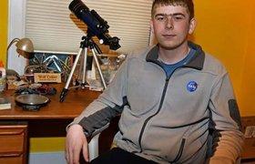 Подросток открыл новую планету во время стажировки в НАСА