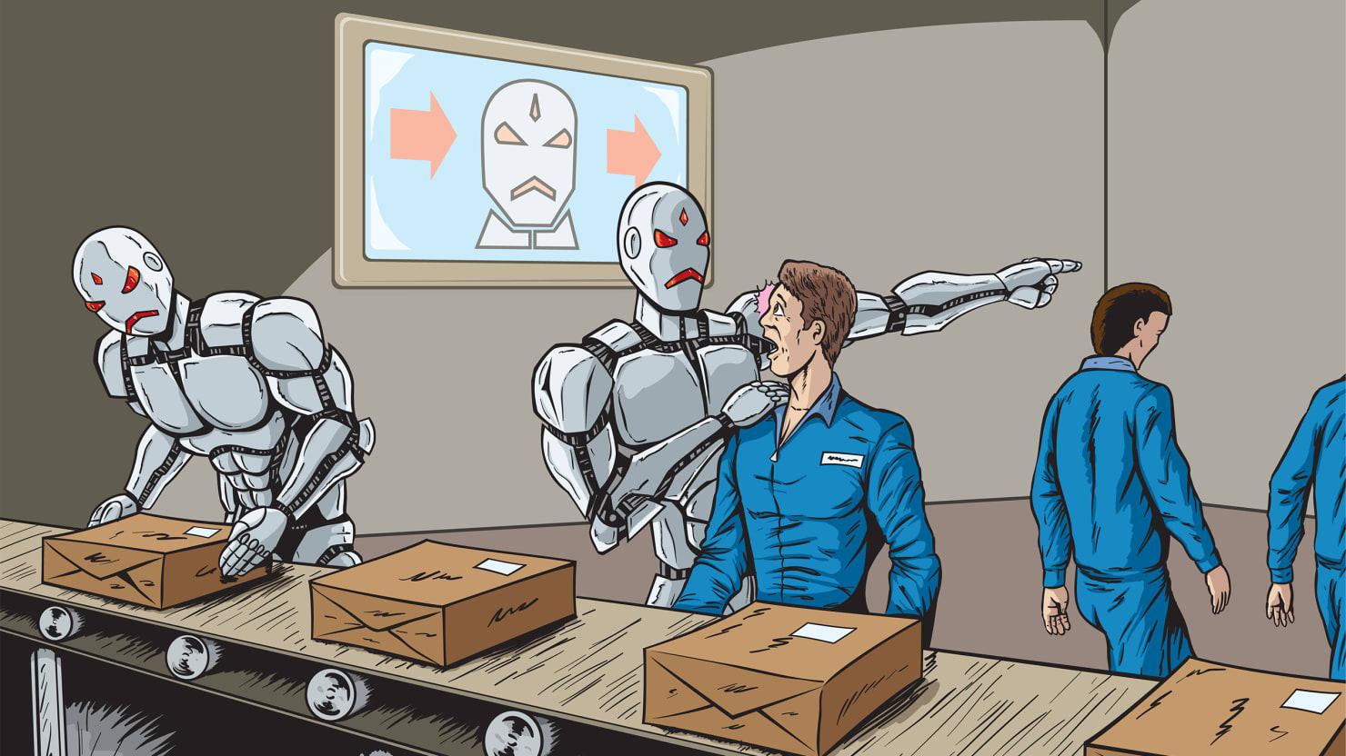 Исследование: Роботизация может привести к росту рабства в мире