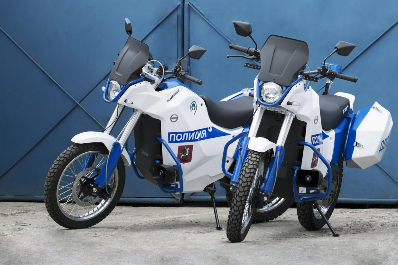 «Калашников» выпустил электромотоциклы и электрокары для полиции к ЧМ по футболу