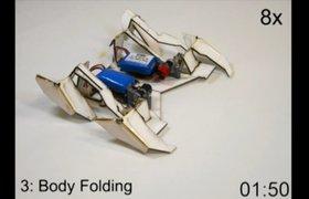 Оригами-робот — собирает себя сам и идет