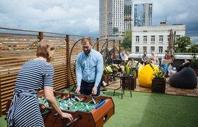 «Соответствовать Google-культуре»: «Ланит» сделала коворкинг для сотрудников на крыше