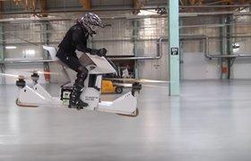 Российский стартап Hoversurf представил готовый летающий мотоцикл Scorpion 3