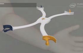 В Стэнфорде разработали дрон-браслет для сэлфи