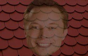 Илон Маск представил солнечную панель размером с крышу