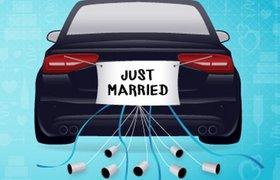 Брак по вызову: как Uber помогает пожениться по-быстрому