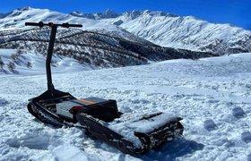 Первый в мире серийный электросноуборд представили в России