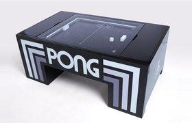 На Kickstarter собрали деньги на серийное производство столов для игры в физический «Понг»