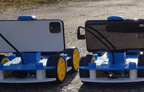 Исследователи Intel разработали недорогого робота на базе смартфона