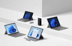 Microsoft представила планшет Surface Pro 8 и Windows 11