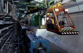 CERN запустил робота-инспектора для Большого адронного коллайдера
