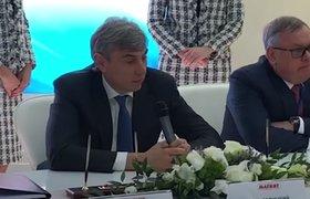 Видео: Сергей Галицкий эмоционально объявляет об уходе из «Магнита»