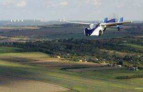 В Словакии автомобиль научили летать