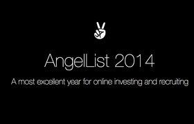 Какие стартапы поднимали инвестиции на AngelList в 2014