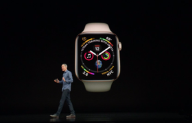 Apple представила смарт-часы Apple Watch Series 4