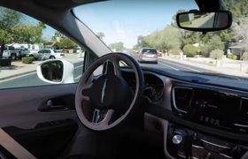 Видео: Waymo показала поездку на беспилотном автомобиле без водителя за рулем