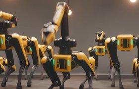 Роботы Boston Dynamics задорно сплясали в честь присоединения компании к Hyundai Motor Group