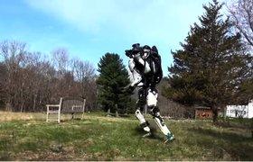 Видео: робот Boston Dynamics научился бегу с преодолением препятствий