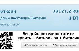 В России запустили сервис для встраивания на сайты приема криптовалют