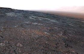 NASA показало сделанную Curiosity панораму Марса