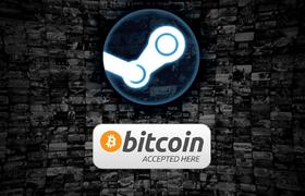 Крупнейшая игровая платформа Steam начала принимать биткоины
