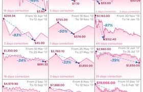 История падения биткоина в 12 актах