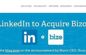 LinkedIn приобрел маркетинговый стартап Bizo