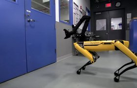 Видео: роботы Boston Dynamics научились помогать друг другу