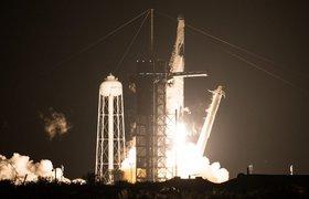 SpaceX отправила к МКС первый регулярный рейс Crew Dragon