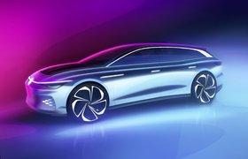 Volkswagen показал свой первый электрический универсал