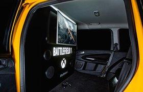 В машинах «Яндекс.Такси» теперь можно поиграть в Battlefield 1
