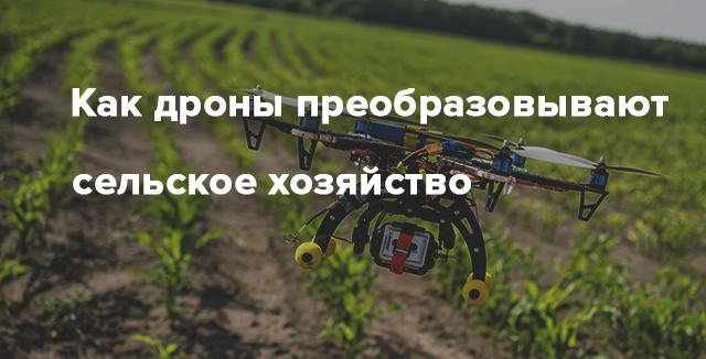 Аэросъемка для сельского хозяйства