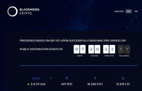 Блокчейн-стартап Ильи Перекопского Blackmoon Crypto собрал $10 млн в ходе pre-ICO
