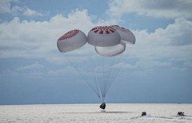 Корабль SpaceX с полностью гражданским экипажем успешно вернулся на Землю