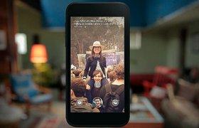 Новостная лента Facebook - c экрана блокировки телефона