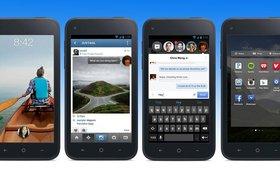 Facebook Home загрузили около полумиллиона пользователей