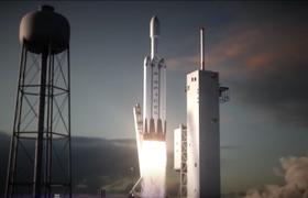 SpaceX проведет запуск сверхтяжелой ракеты с повторным использованием