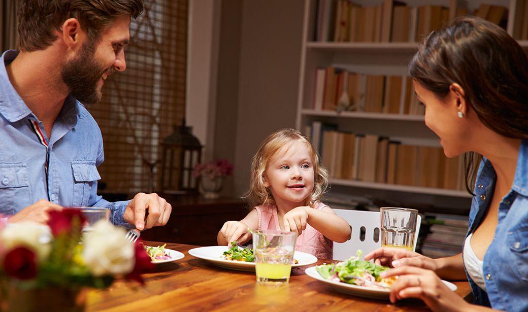 Как сделать семейный ужин приятным – советы для работающих родителей