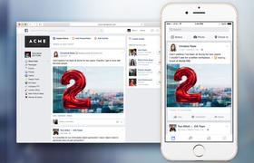 Facebook запустил социальную сеть для компаний Facebook at Work