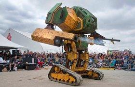 Стартап MegaBots привлек $2,4 млн на создание лиги боевых пилотируемых роботов